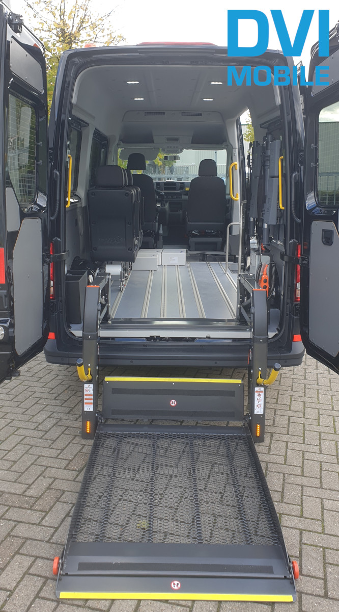 MAN TGE 350 mit DVI Mobile Umbau Lift